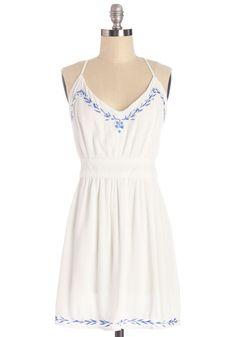 Pasture Prefixe Dress #white #modcloth