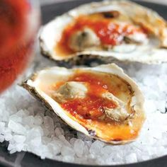 Spicy Barbecued Oysters  | KitchenDaily.com