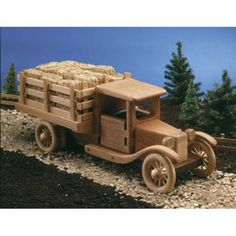 Farm Truck Woodworking Plan