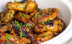 Get ready for some seriously satisfying Asian-Style Orange Chicken Wings. This easy slow cooker chicken wings recipe is a great take on traditional BBQ or buffalo-style wings, with an Asian-inspired twist.