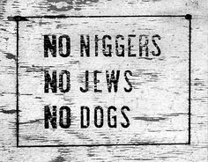 I actually saw signs just like this in the early 50's when my parents were trying to buy their first house. No housed in the Jim Crow Museum located at Ferris State University, Big Rapids, Michigan