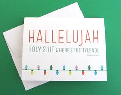 Yes!! Clark Griswold Christmas Vacation Christmas cards!!