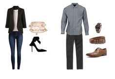 Business Casual Attire - Her vs Him! Find more examples in this comprehensive article.