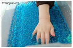 OT Activity of the Week: Fine Motor Skills with Water Beads - Pinned by @PediaStaff – Please Visit  ht.ly/63sNt for all our pediatric therapy pins