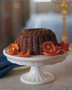 Steamed Persimmon Pudding Recipe