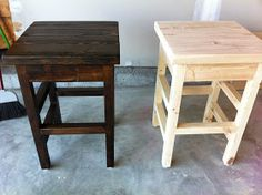 The Quaint Cottage: Bar Stools for the Island