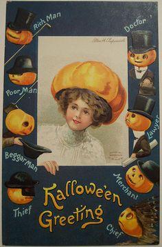 Halloween - pumpkin hat
