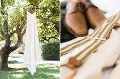 Sarah and Josh's wedding attire                             | Napa Valley Wedding |
