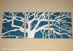 DIY tree painting