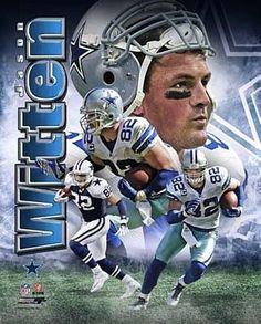 JASON WITTEN Dallas Cowboys LICENSED un-signed poster picture 8x10 photo