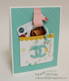 Control Freak Swap :: Confessions of a Stamping Addict Shopping Bag Lorri Heiling Good Greetings Stampin' Up