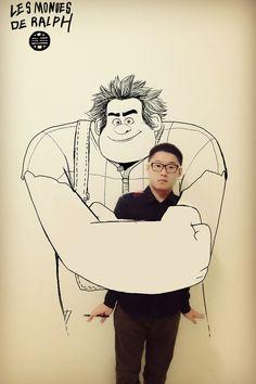 Comics reel illustration by Gaikuo