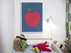 The Apple Poster @Etsy