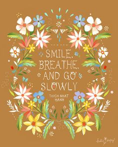 Go Slowly by Katie Daisy on Etsy,