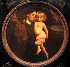 Mother & Child - Abbott Handerson Thayer