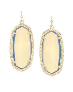 #1 on my MUST HAVE list!!! Elle Earrings in Clear Iridescent - Kendra Scott Jewelry.