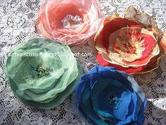 Tutorial de flores de tela | Arte en casa by Nauma