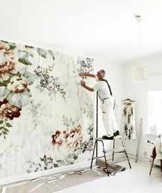 I want oversized florals in my home someday