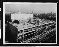 Construction of the Hollywood Pantages Theater, December 1, 1929