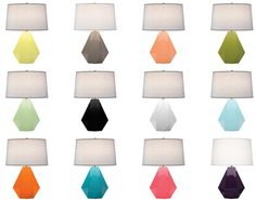 Colorful lamps!