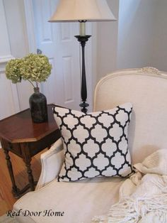 How to sew pillow cover with invisible zipper