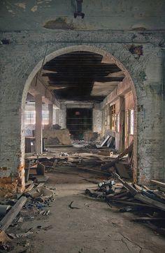 abandoned  cleveland stove company in ohio.