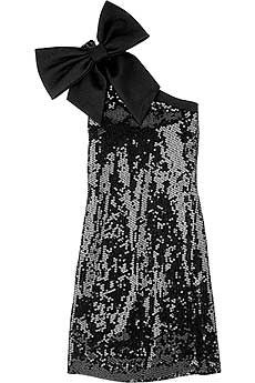 I want!! birthday dresses, new years dress, party dresses, sequin, cloth, little black dresses, new years eve, big bows, year dress
