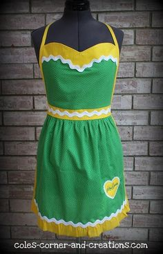 #Baylor apron? Yes, please!