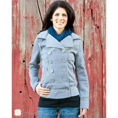 The Perfect Peacoat - Heather Gray