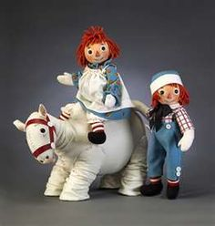 R. John Wright Raggedy Ann, Andy, and Camel