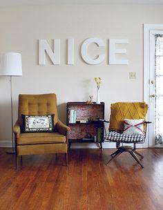 vintage modern decor - Google Search
