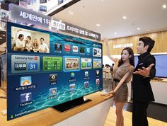Samsung 75-inch ES9000 smart TV samsung smart tv, 75inch es9000, dorm room, gadget, samsung 75inch, samsung tv, 75inch lcd, tvs, technolog