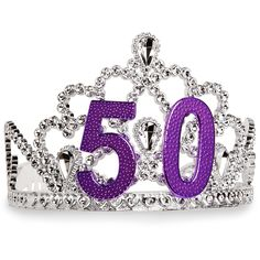 Happy 50th Birthday - Purple's my color, but gotta go blue for my Mama.