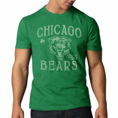 '47 Brand Chicago Bears St. Patrick's Day T-Shirt - Kelly Green