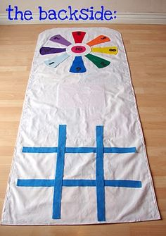 Reverside of Hopscotch play mat...  www.theidearoom.net