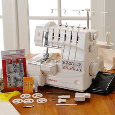 Singer® Professional 5 Thread Serger Machine - No longer a wish!!  YAY ME!!!!!