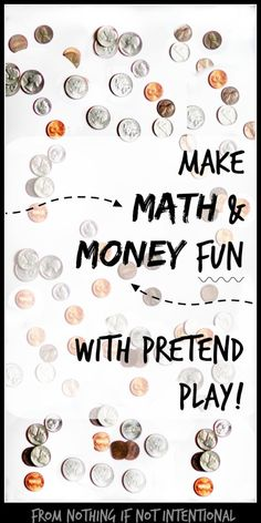"""""""Mommy, Can I Buy My Lunch Today?"""" Playful Math for Preschool"""