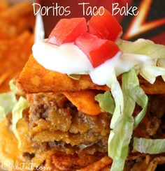 Doritos Taco Bake!