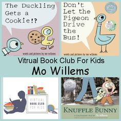 September Virtual Book Club: Mo Willems - 3Dinosaurs.com