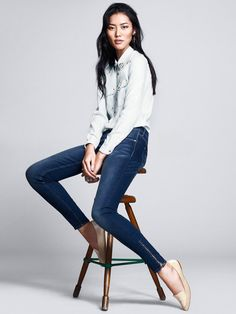 Liu Wen by Andrew Yee for H&M