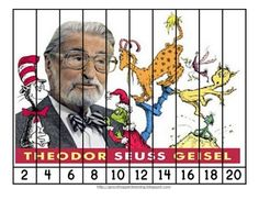 Free!! Dr. Seuss counting & skip counting puzzles...Including Green Eggs & one Fish puzzles!!  Fun activity!