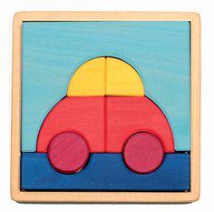Car Wooden Block Puzzle