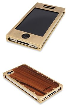 Brass / Wood iPhone Case