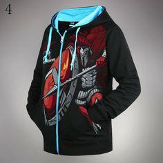 League of Legends LOL Lee Sin Pantheon logo jacket hoodie sweatshirt