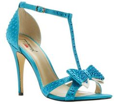 Beautiful #blue turquoise wedding #shoes with jewelled detail  www.finditforweddings.com
