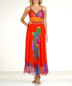 Dress Accordingly: love the orange!