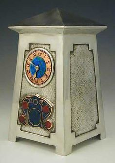 ARCHIBALD KNOX FOR LIBERTY & Co. ARCHITECTURAL CLOCK