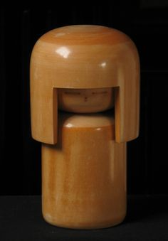 Japanese Wooden Doll.