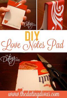 DIY love notes!