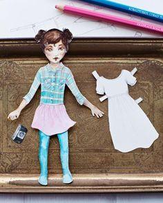 Lova's World: Free Printable Paper Dolls